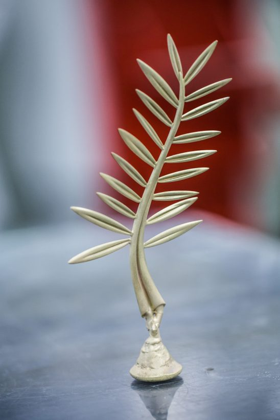 10. The Palme before sculpting