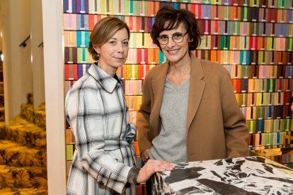 Fabienne Mauny et Inäs de la Fressange