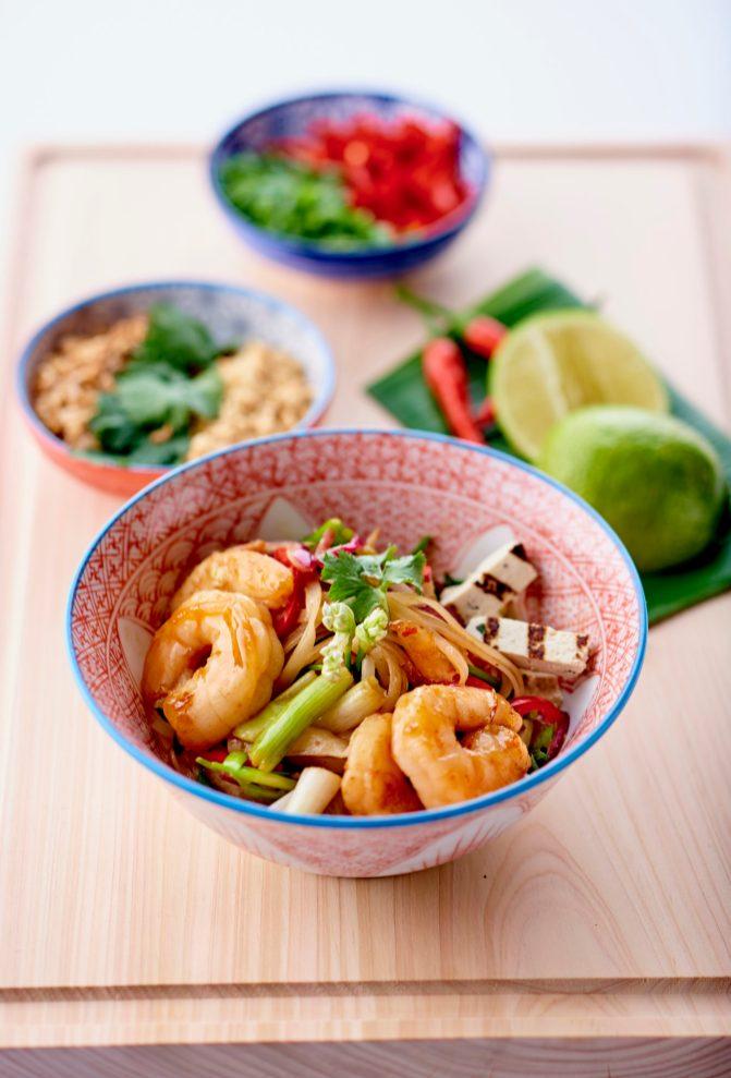 Pad thai aux crevettes - © B. Winkelmann (7)