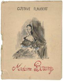 3 - Livre d'enfance, Madame Bovary, d'après le roman eponyme de Gustave Flaubert, 1951 © Fondation Pierre Bergé - Yves Saint Laurent _ Tous droits réservés