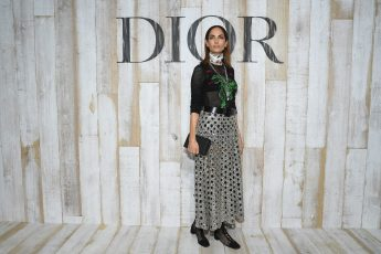 CHANTILLY, FRANCE - MAY 25: Eugenia Silva poses at a photocall during Christian Dior Couture S/S19 Cruise Collection on May 25, 2018 in Chantilly, France. (Photo by Pascal Le Segretain/Getty Images For Christian Dior) *** Local Caption *** Eugenia Silva