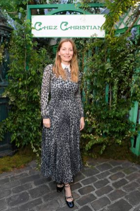 PARIS, FRANCE - MAY 24: Lucie de la Falaise attends the Welcome Dinner of the Christian Dior Couture S/S 2019 Cruise Collection on May 24, 2018 in Paris, France. (Photo by Victor Boyko/Getty Images For Christian Dior)