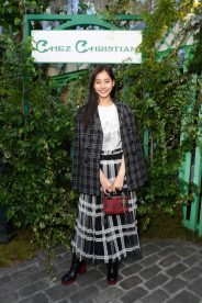 PARIS, FRANCE - MAY 24: Yuko Araki attends the Welcome Dinner of the Christian Dior Couture S/S 2019 Cruise Collection on May 24, 2018 in Paris, France. (Photo by Victor Boyko/Getty Images For Christian Dior)