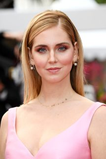 "CANNES, FRANCE - MAY 13: Chiara Ferragni attends the screening of ""Sink Or Swim (Le Grand Bain)"" during the 71st annual Cannes Film Festival at Palais des Festivals on May 13, 2018 in Cannes, France. (Photo by Dominique Charriau/WireImage)"