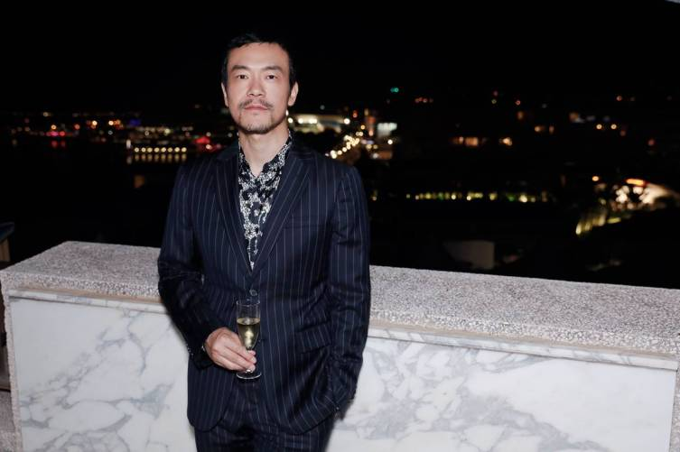 Liao Fan in Roberto Cavalli @ Cannes Film Festival 2
