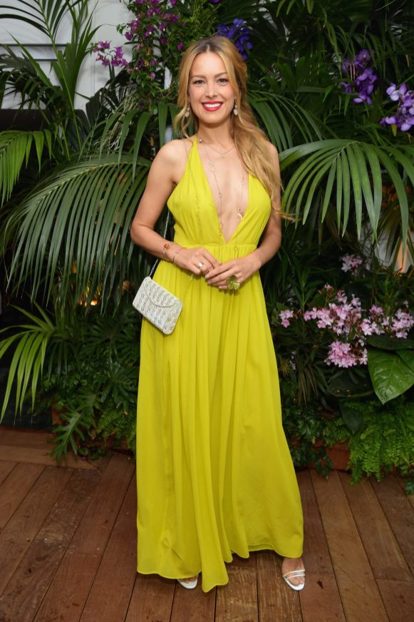 CANNES, FRANCE - MAY 13: Petra Nemcova attends the ladies luncheon announcing the new partnership between Chopard and the Naked Heart Foundation at Hotel Martinez on May 13, 2018 in Cannes, France. (Photo by Emma McIntyre/Getty Images)