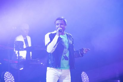 Duran Duran. Simon LE BON.. Bulgari Brand Event High Jewerly. Wild Pop. Rome . Italy 06/2018 © david atlan