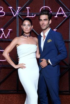 ROME, ITALY - JUNE 28: Jon Kortajarena and Lily Aldridge attend BVLGARI Dinner & Party at Stadio dei Marmi on June 28, 2018 in Rome, Italy. (Photo by Daniele Venturelli/Daniele Venturelli/Getty Images for Bvlgari )