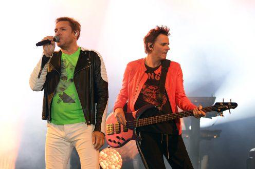 ROME, ITALY - JUNE 28: Duran Duran perform during BVLGARI Dinner & Party at Stadio dei Marmi on June 28, 2018 in Rome, Italy. (Photo by Daniele Venturelli/Daniele Venturelli/Getty Images for Bvlgari )