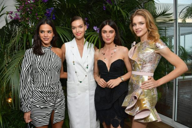 attends the ladies luncheon announcing the new partnership between Chopard and the Naked Heart Foundation at Hotel Martinez on May 13, 2018 in Cannes, France.