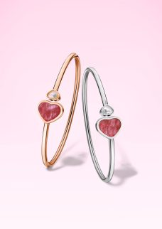 Happy Hearts Collection bangles @857482-1710 and @857482-5710 (P)