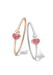 Happy Hearts Collection bangles @857482-1710 and @857482-5710 (W)