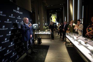 Hublot Digital Boutique launch