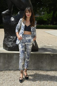 PARIS, FRANCE - JULY 02: Anais Demoustier attends the Christian Dior Haute Couture Fall Winter 2018/2019 show as part of Paris Fashion Week on July 2, 2018 in Paris, France. (Photo by Pascal Le Segretain/Getty Images for Christian Dior Couture) *** Local Caption *** Anais Demoustier