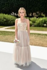 PARIS, FRANCE - JULY 02: Emma Roberts attends the Christian Dior Couture Haute Couture Fall/Winter 2018-2019 show as part of Haute Couture Paris Fashion Week on July 2, 2018 in Paris, France. (Photo by Dominique Charriau/WireImage)