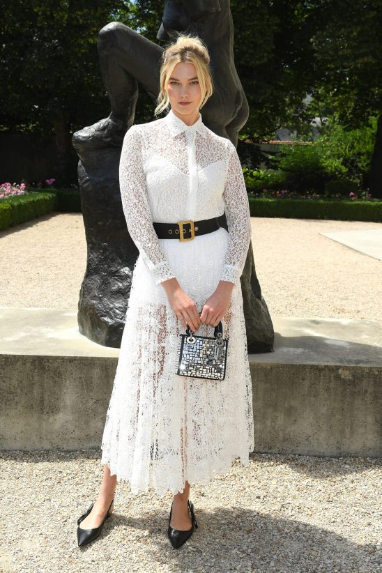 PARIS, FRANCE - JULY 02: Karlie Kloss attends the Christian Dior Haute Couture Fall Winter 2018/2019 show as part of Paris Fashion Week on July 2, 2018 in Paris, France. (Photo by Pascal Le Segretain/Getty Images for Christian Dior Couture) *** Local Caption *** Karlie Kloss