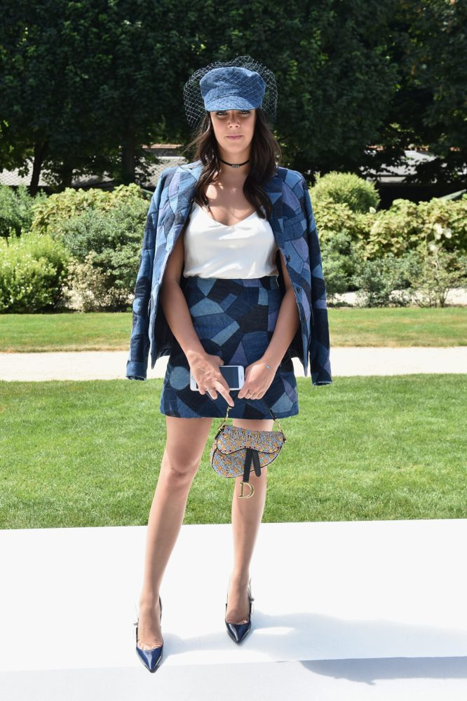 PARIS, FRANCE - JULY 02: Pauline Ducruet attends the Christian Dior Couture Haute Couture Fall/Winter 2018-2019 show as part of Haute Couture Paris Fashion Week on July 2, 2018 in Paris, France. (Photo by Dominique Charriau/WireImage)