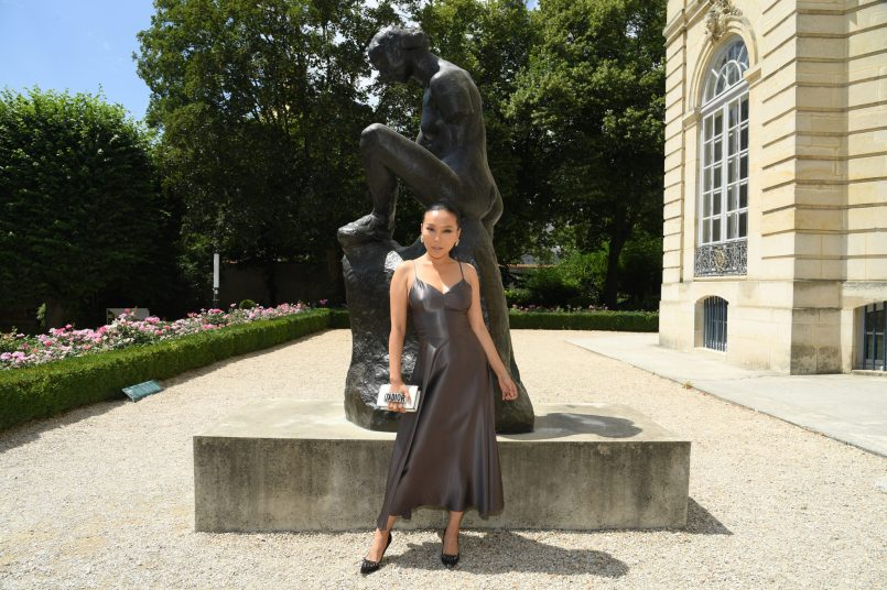 PARIS, FRANCE - JULY 02: Baobao Wan attends the Christian Dior Haute Couture Fall Winter 2018/2019 show as part of Paris Fashion Week on July 2, 2018 in Paris, France. (Photo by Pascal Le Segretain/Getty Images for Christian Dior Couture) *** Local Caption *** Baobao Wan