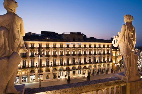 Facade InterContinental Bordeaux - Le Grand Hotel