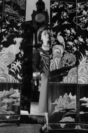 Coco Chanel (1883-1971), couturière française. Paris, août 1937.