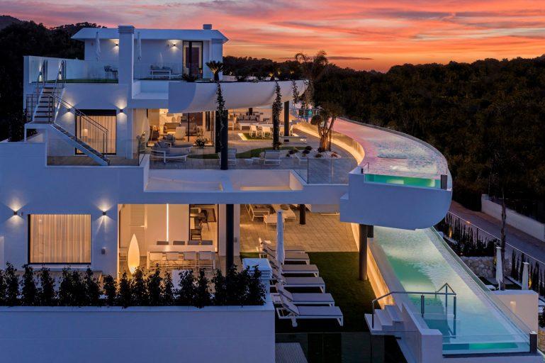 SHA Residences - Facade - Sunset2