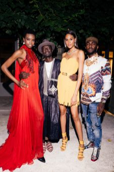 de GRISOGONO_Diner Party Ritz_Maria Borges, Jenke Ahmed Tailly, Cindy Bruna and friend