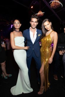 Lily ALDRIDGE. Jon KORTAJARENA. Bella HADID.. Bulgari Brand Event High Jewerly. Wild Pop. Rome . Italy 06/2018 © david atlan