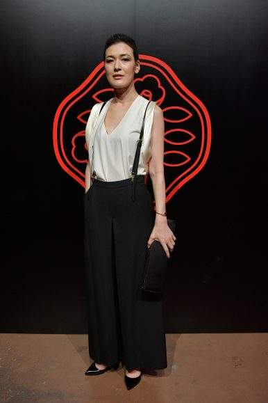 TOKYO, JAPAN - AUGUST 01: Ayako Suwa attends the Shiseido Makeup Tokyo Launch Event on August 1, 2018 in Tokyo, Japan. (Photo by Keith Tsuji/Getty Images for SHISEIDO) *** Local Caption *** Ayako Suwa