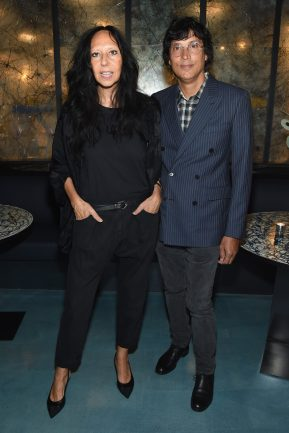 NEW YORK, NY - SEPTEMBER 12: Inez an Lamsweeerde and Vinoodh Matadin attend the Michael Kors x 10 Corso Como Dinner at 10 Corso Como on September 12, 2018 in New York City. (Photo by Larry Busacca/Getty Images for Michael Kors)