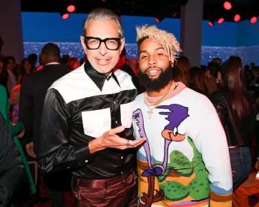 Jeff Goldblum, Odell Beckham Jr.