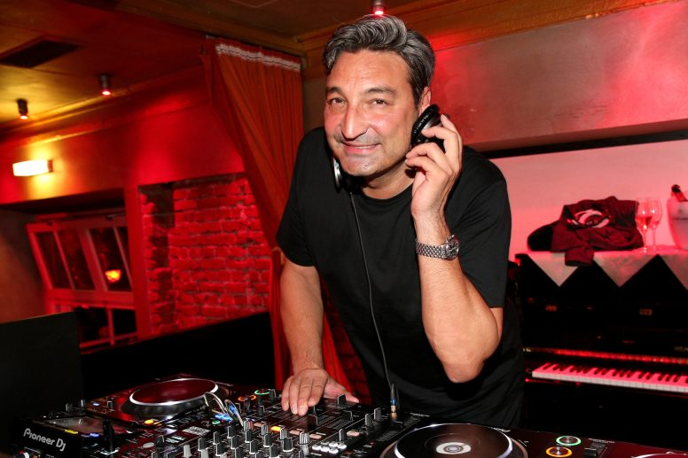MUNICH, GERMANY - SEPTEMBER 13: Mousse T. performs during the Boutique Trunk Show & Giorgio's after party at Parkcafe on September 13, 2018 in Munich, Germany. (Photo by Gisela Schober/Getty Images for Giorgio Armani)