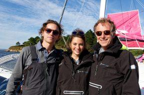 Grand Prix Valdys Multi50 - Raphaël, Pauline Cheviller et Charles Berling