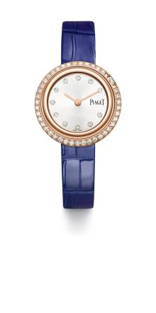 Lapis Blue leather strap 29mm Possession watch G0A43082