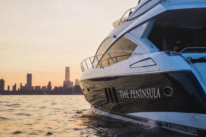 The Peninsula Luxury Yacht – Harbour Sunset Cruise