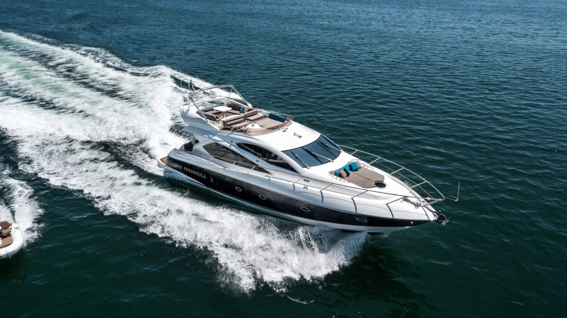 The Peninsula Luxury Yacht – Private Charter