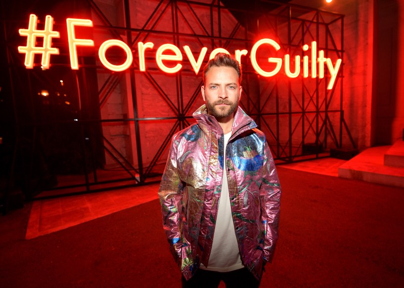 HOLLYWOOD, CA - NOVEMBER 02: Alessandro Borghi attends Gucci Guilty Launch Party at Hollywood Forever on November 2, 2018 in Hollywood, California. (Photo by Matt Winkelmeyer/Getty Images for GUCCI)