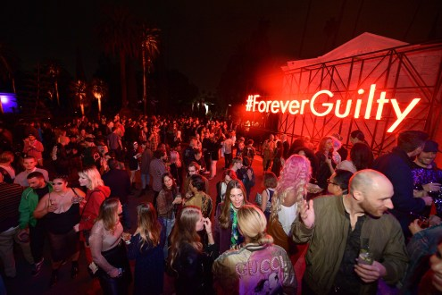HOLLYWOOD, CA - NOVEMBER 02: Guests attend Gucci Guilty Launch Party at Hollywood Forever on November 2, 2018 in Hollywood, California. (Photo by Matt Winkelmeyer/Getty Images for GUCCI)
