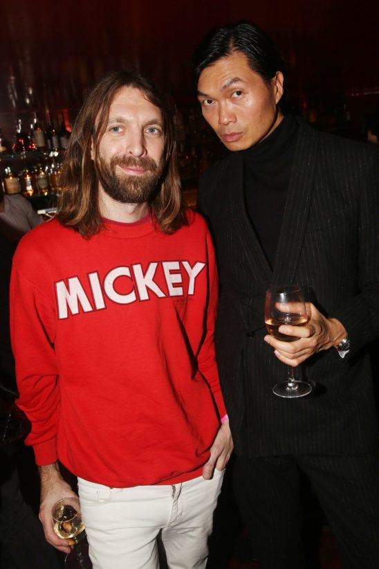 Thibaut Berland (Breakbot) et Axel Huynh lors de la soiree d'inauguration du restaurant Roxie a Paris, France, le 27 Novembre 2018. Photo by Jerome Domine/ABACAPRESS.COM