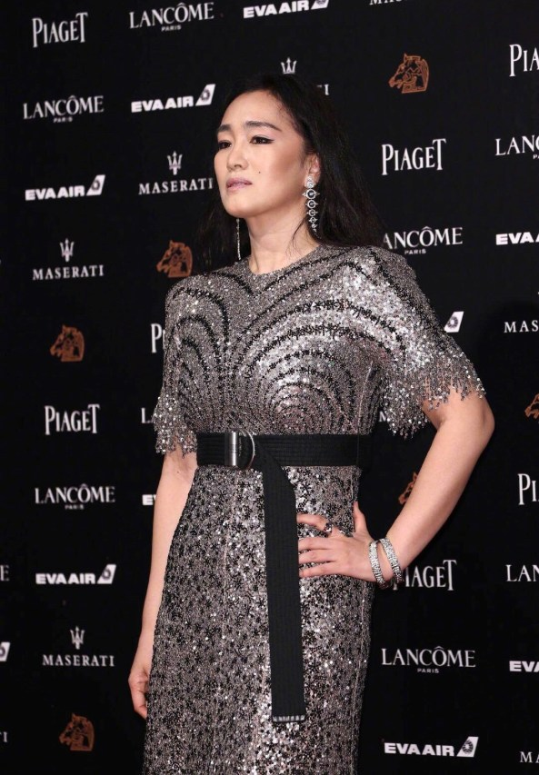 Gong Li in Givenchy