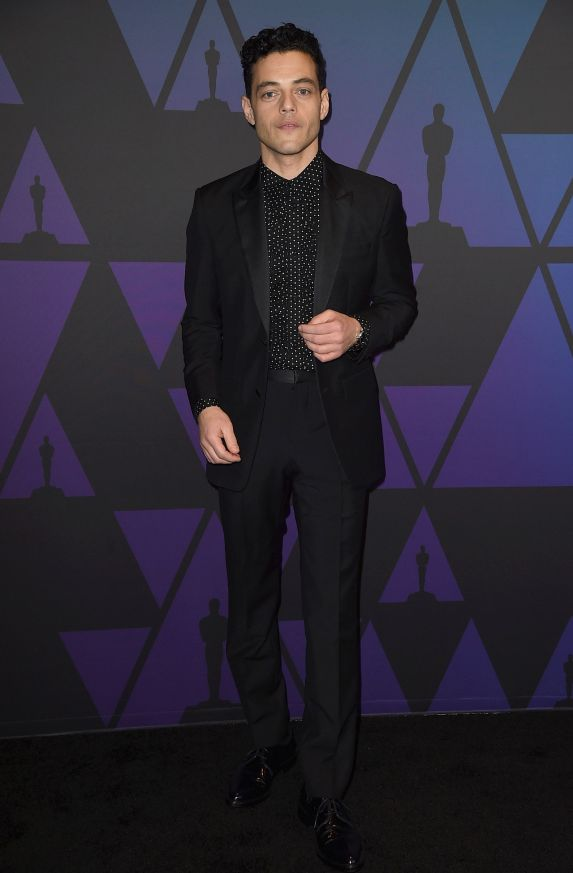 HOLLYWOOD, CA - NOVEMBER 18: Rami Malek attends the Academy of Motion Picture Arts and Sciences' 10th annual Governors Awards at The Ray Dolby Ballroom at Hollywood & Highland Center on November 18, 2018 in Hollywood, California. (Photo by Kevin Winter/Getty Images)