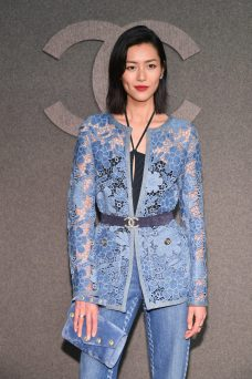 NEW YORK, NY - DECEMBER 04: attends the CHANEL Metiers d'Art 2018/19 Show at The Metropolitan Museum of Art on December 4, 2018 in New York City. (Photo by Slaven Vlasic/WireImage) *** Local Caption *** Liu Wen