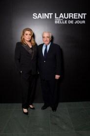 Catherine Deneuve & Martin Scorsese