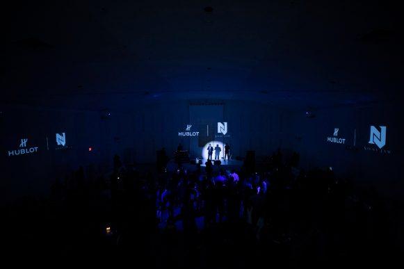 Ricardo Guadalupe presenting the Big Bang Meca-10 Nicky Jam