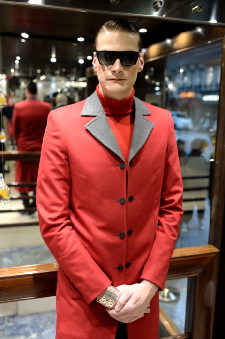 PARIS, FRANCE - JANUARY 18: Yannick Agnel attends Smalto Presentation during Paris Menswear Fashion Week on January 18, 2019 in Paris, France. (Photo by Francois Durand/Getty Images For Smalto )