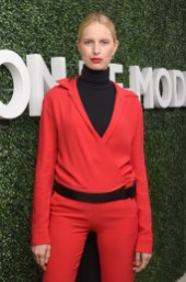 LOS ANGELES, CA - FEBRUARY 23: Karolina Kurkova attends MAISON-DE-MODE.COM Sustainable Style Gala at Sunset Tower on February 23, 2019 in Los Angeles, California. (Photo by Vivien Killilea/Getty Images for MAISON-DE-MODE.COM)