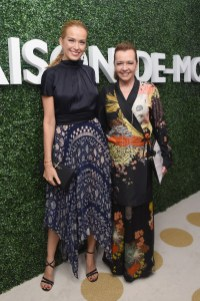 Petra Nemcova and Caroline Scheufele attend MAISON-DE-MODE.COM Sustainable Style Gala at Sunset Tower on February 23, 2019 in Los Angeles