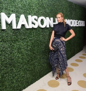 Petra Nemcova attends MAISON-DE-MODE.COM Sustainable Style Gala at Sunset Tower on February 23, 2019 in Los Angeles_2