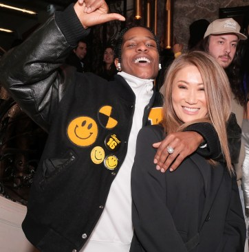 A$AP Rocky and Irene Roth