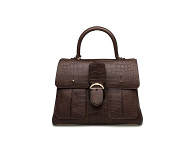 DELVAUX_AH1920_Brillant_GM_Fly_Alligator_Aloé_Trench_Tobacco_II