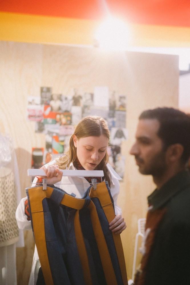 LVMH PRIZE 2019 COCKTAIL - MARIE-EVE LECAVALIER - LECAVALIER © VIRGILE GUINARD